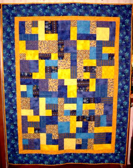 Free Quilt Pattern For Yellow Brick Road : Pattern Yellow Brick Road Browse Patterns